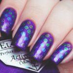 Фиолетовый маникюр на короткие ногти 45-11-150x150