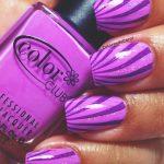 Фиолетовый маникюр на короткие ногти 45-5-150x150