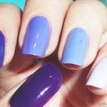 Фиолетовый маникюр на короткие ногти 45-6-150x150