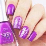 Фиолетовый маникюр на короткие ногти 45-8-150x150
