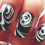 Маникюр с рисунками на ногтях в домашних условиях 71-13-150x150