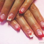 Французский маникюр на нарощенные ногти: обворожительные фото 83-20-150x150
