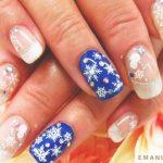 Французский маникюр на нарощенные ногти: обворожительные фото 83-4-150x150