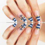 Французский маникюр на нарощенные ногти: обворожительные фото 83-9-150x150