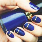 Синий маникюр шеллаком: роскошные фото 116-14-150x150