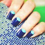 Синий маникюр шеллаком: роскошные фото 116-16-150x150