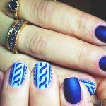 Синий маникюр шеллаком: роскошные фото 116-2-150x150