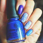 Синий маникюр шеллаком: роскошные фото 116-7-150x150