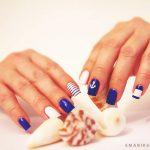 Синий маникюр шеллаком: роскошные фото 116-8-150x150