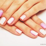 Нежный маникюр на коротких ногтях: великолепные фото 40-12-150x150