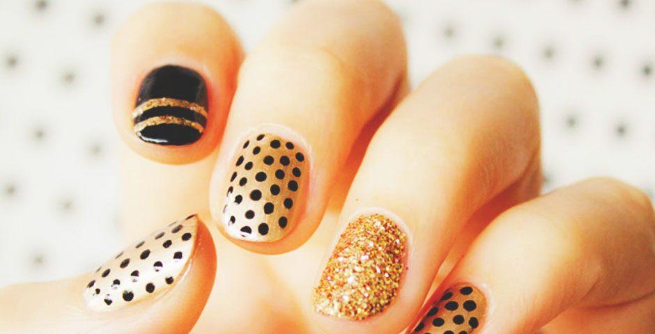 Фото дизайна на коротких ногтей