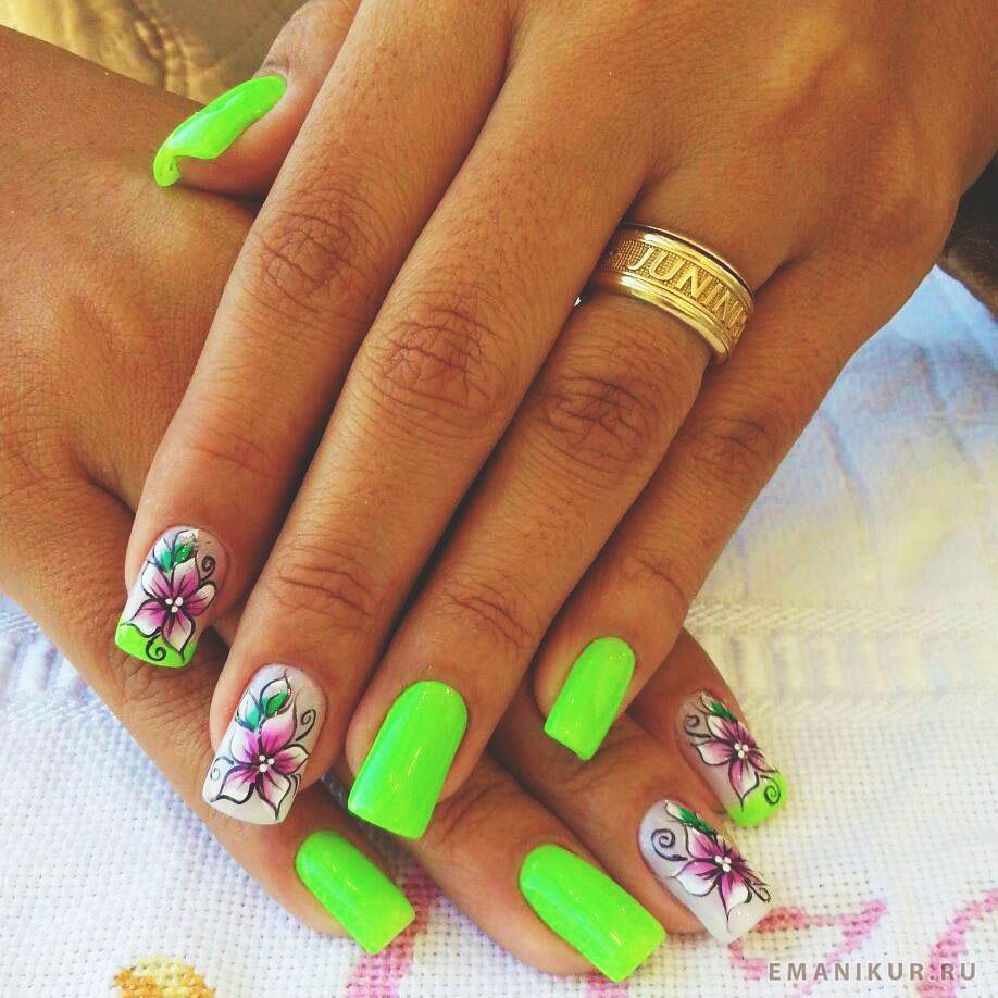 Фото ногти красивые на лето