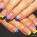 Красивый маникюр на короткие ногти: яркие фото 48-5-150x150