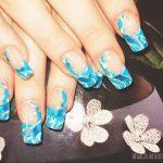 Маникюр синий френч: обворожительные фото 92-10-150x150