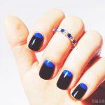 Маникюр синий френч: обворожительные фото 92-13-150x150