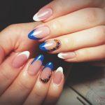 Маникюр синий френч: обворожительные фото 92-14-150x150