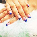 Маникюр синий френч: обворожительные фото 92-3-150x150
