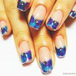 Маникюр синий френч: обворожительные фото 92-6-150x150