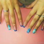 Маникюр синий френч: обворожительные фото 92-8-150x150